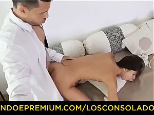 LOS CONSOLADORES - Russian Gina Gerson porked in FFM