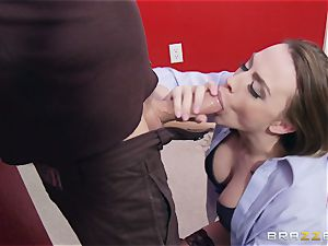 Married damsel Chanel Preston gets titfucked and her snatch poking by thief