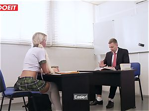 LETSDOEIT - French schoolgirl porked xxx At the GYM