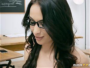 ass-fuck plunged milf professor Anissa Kate in class