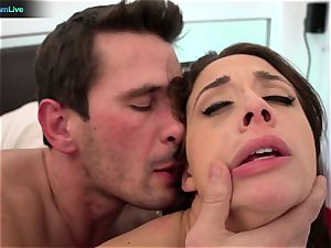 crazy honey Chanel Preston raunchy assfucking session