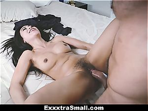 small asian girl adores fat dark-hued dicks