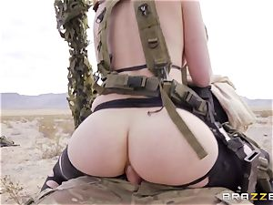 iron Gear Solid 5 anal invasion pornography parody with kinky brown-haired Casey Calvert