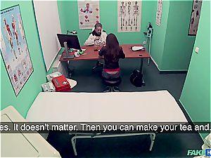 Hidden web cam romp in the doctors office