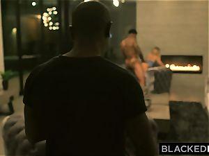 BLACKEDRAW Adriana Chechik Has 3AM double big black cock longing