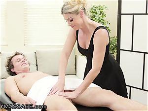 milf India Summer massages Her teen punch