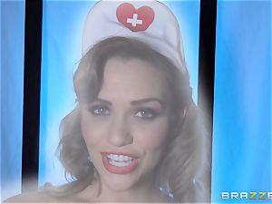 fantasy nurse Mia Malkova gets her patient through his operation