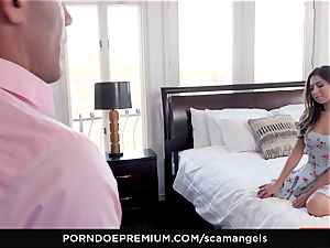 SCAM ANGELS - Gina Valentina group romp with steamy babes