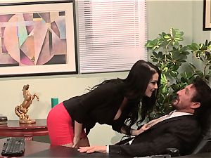 secretary Katrina Jade smashes her steamy manager at work