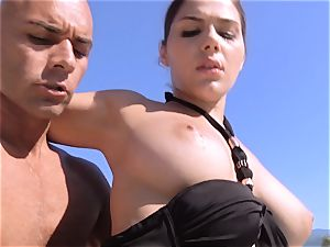 orgy in the sunshine for Valentina Nappi