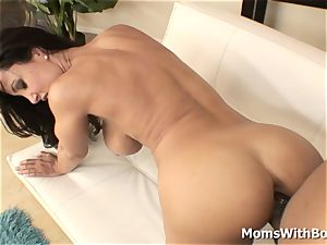 arse killer mummy Lisa Ann penetrating hard ebony hard-on