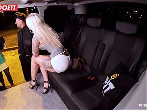 LETSDOEIT - fortunate taxi Driver Bones 2 super-fucking-hot Blondes
