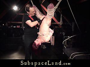 Chica bearing bondage & discipline spanking