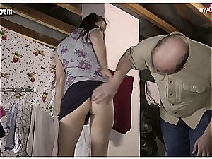 naughty German neighbours ravaging in the attic