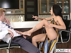 LoveHerFeet - Sneaky cheating sole fuckfest With The Realtor