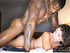 BLACKEDRAW hotwife girlfriend hooks up with ebony guy