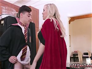 cougar 2 youthfull first time Halloween special With A threeway