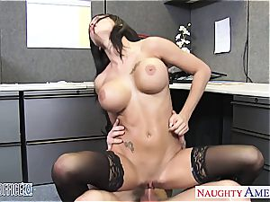perfect Peta Jensen insane for his enormous manmeat at the office