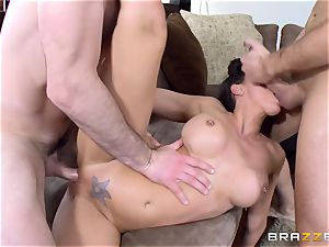 Rachel Starr banged in every slot