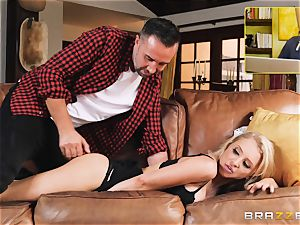 Alix Lynx anal invasion fucked by hung Keiran Lee