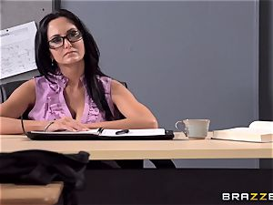 big-titted tutor Ava Addams is penetrated by her college girl