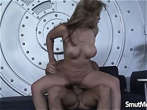 Irresistible Sarah Vandella plow and internal cumshot