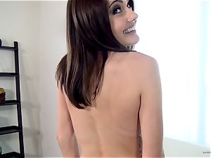 Adria Rae gets carried away at a beautiful audition session
